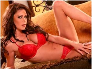 Jessica Jaymes Racy Red Lingerie