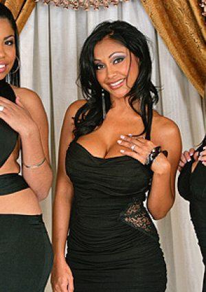 Priya Rai, Rachel Roxxx Wild Orgy