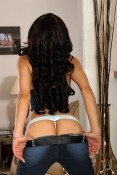 Jada Liu Peels off Her Denim