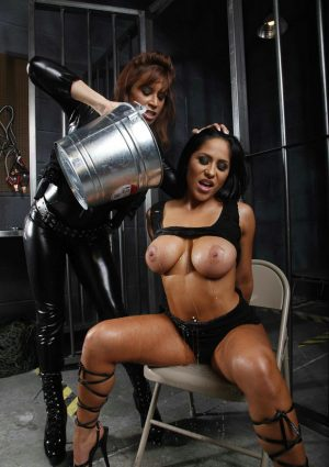 Jenaveve Jolie Kidnapped and Facialed