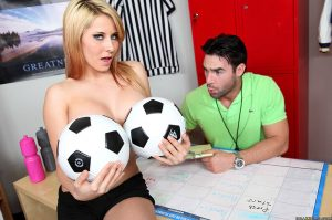 Madison Ivy is a Raunchy Soccer Babe