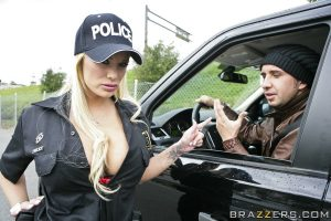 Shyla Stylez Cops a Feel
