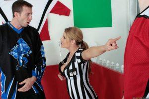 Charisma Capelli Fucks a Hockey Player