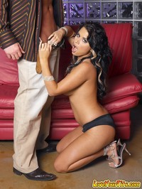 Eva Angelina Takes It Deep on the Sofa
