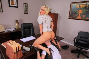 Diamond Foxxx Office Anal